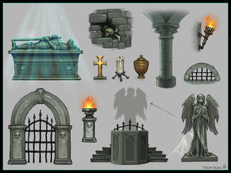 Crypt Props by Vermin-Star