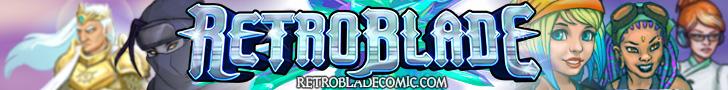 RetroBlade Wide Banner by Vermin-Star