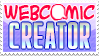 Webcomic Creator Stamp