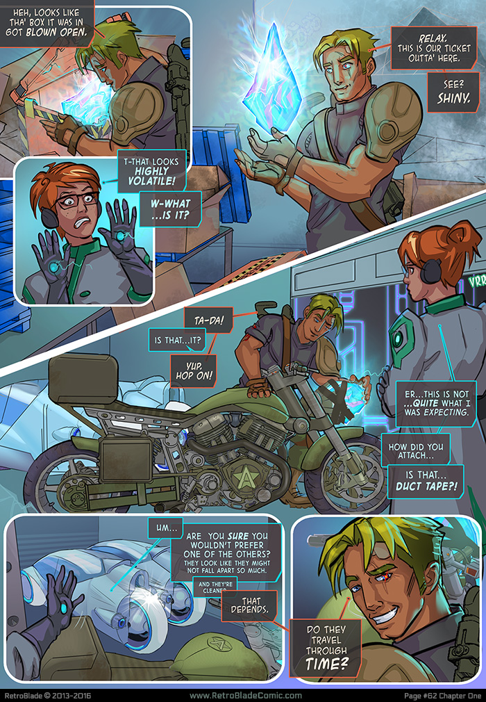 RetroBlade: Page 62 by Vermin-Star