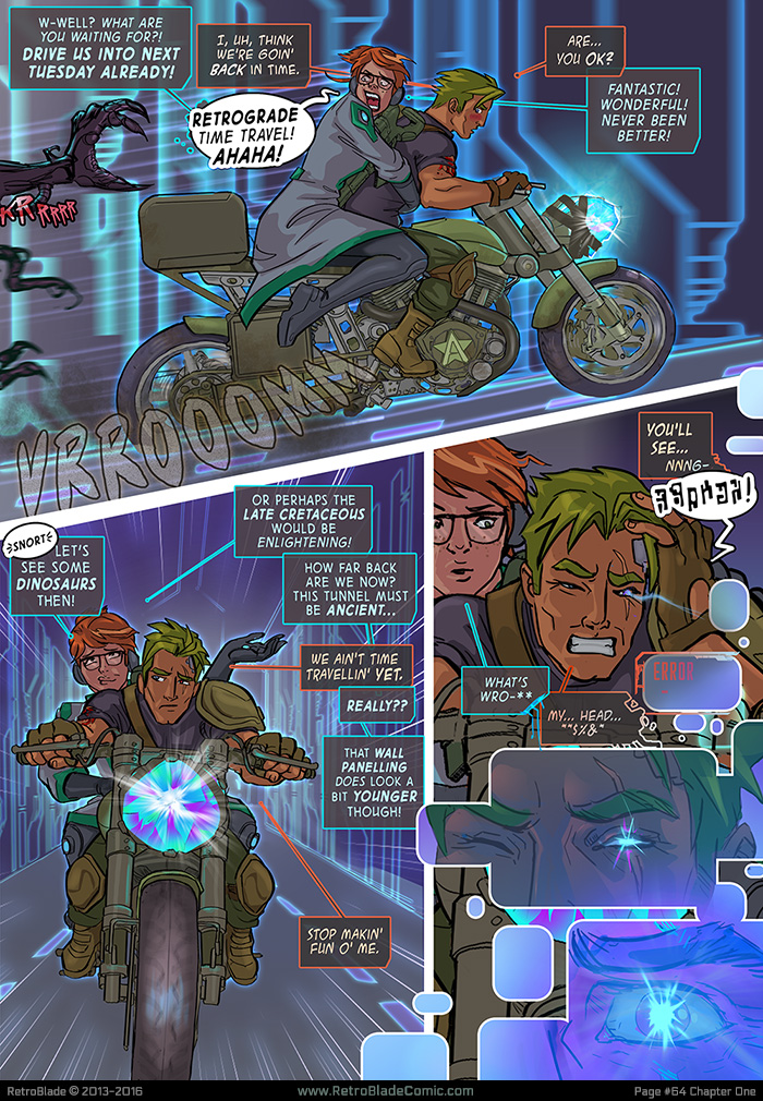 RetroBlade: Page 64 by Vermin-Star