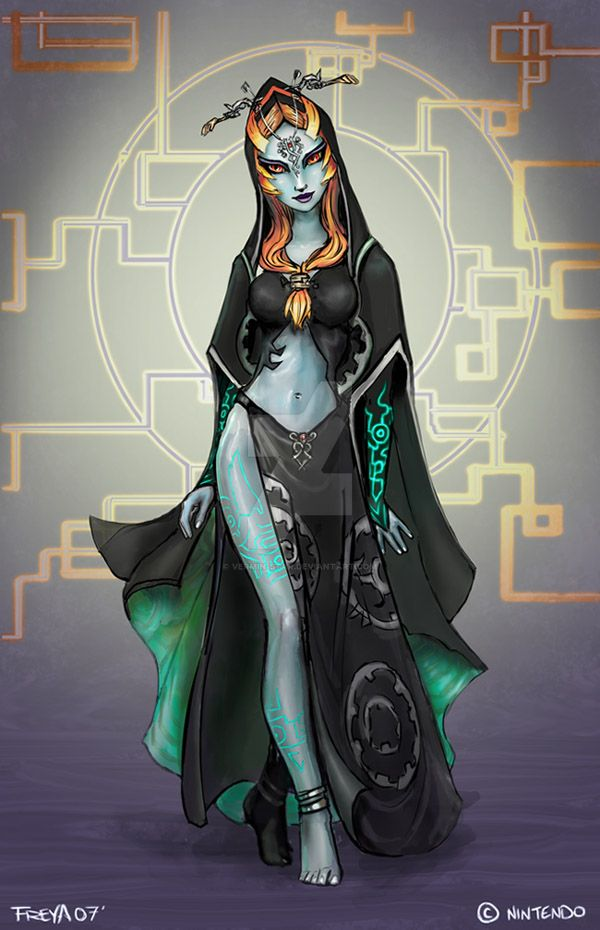 Midna - true form -spoiler- by Vermin-Star