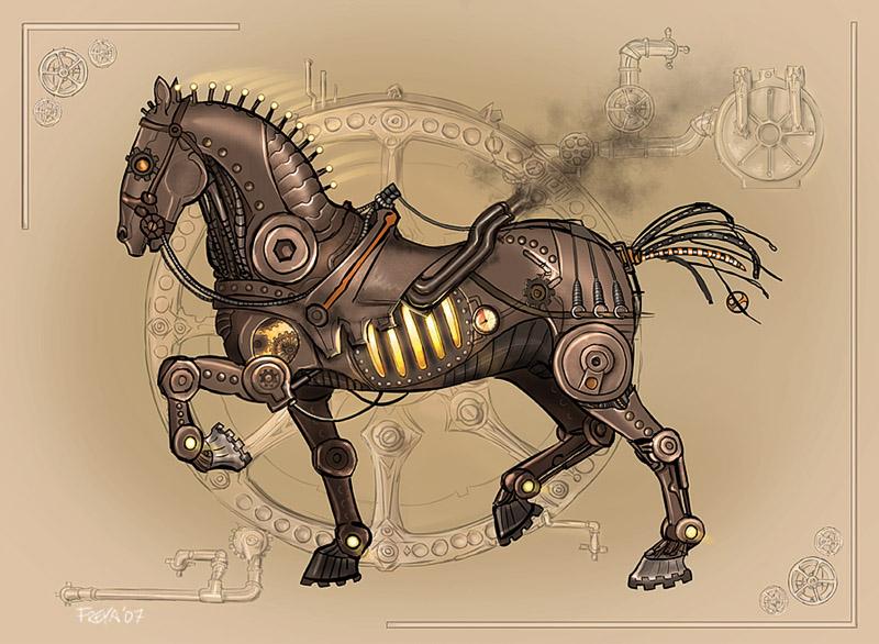 Steam Horse by Vermin-Star