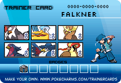 Falkner Trainer Card Rematch by PigmaskMajor120