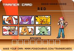 Pokemon Leaf Green Trainer Card by PigmaskMajor120