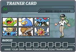 N Trainer Card Black White 2 Spring Team by PigmaskMajor120