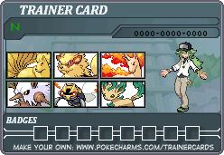 N Trainer Card Black White 2 Summer Team by PigmaskMajor120