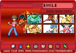 Chuggaaconroy Fire Red Trainer Card by PigmaskMajor120
