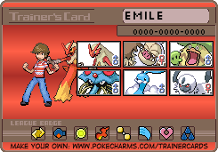 Chuggaaconroy Emerald Trainer Card by PigmaskMajor120