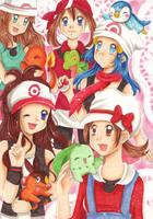 Pokemon Girlz by San-Punnie