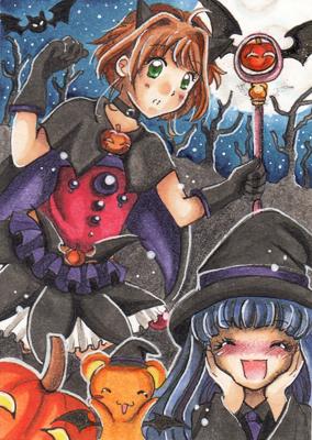 Card Captor Halloween by San-Punnie
