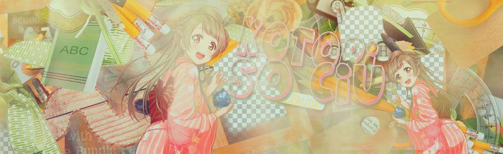 Cover Kotori by honeylemon2004