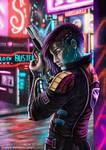 Cyberpunk - Dragonfly