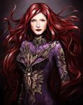 Jessica Chastain as Inhumans Medusa
