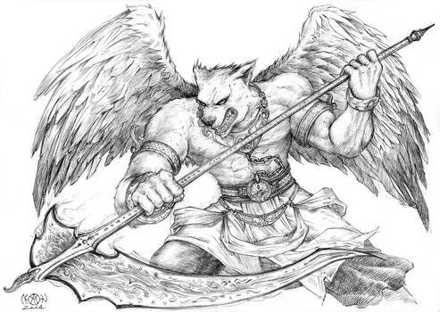 Reaper Winged Wolf