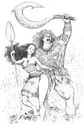 Moana Conan Sketch