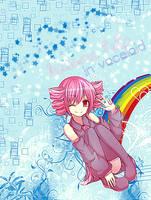 Kasane Teto in Vocaloid by neikoka