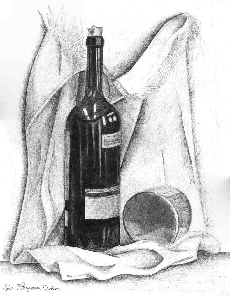 Wine Bottle by tonks1988