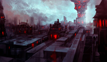 dark city by tobiee