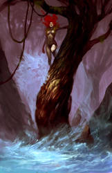 tree lady by tobiee
