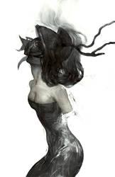 armless lady by tobiee