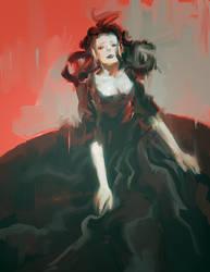 black dress by tobiee