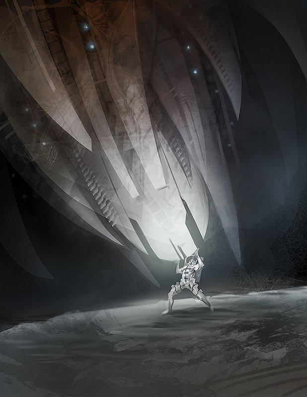 spacespartan vs spaceship by tobiee