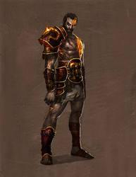 god of war - deimos by tobiee