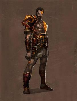 god of war - deimos