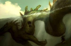 sea dragon by tobiee