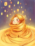 tangled by tobiee