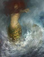 mermaid by tobiee