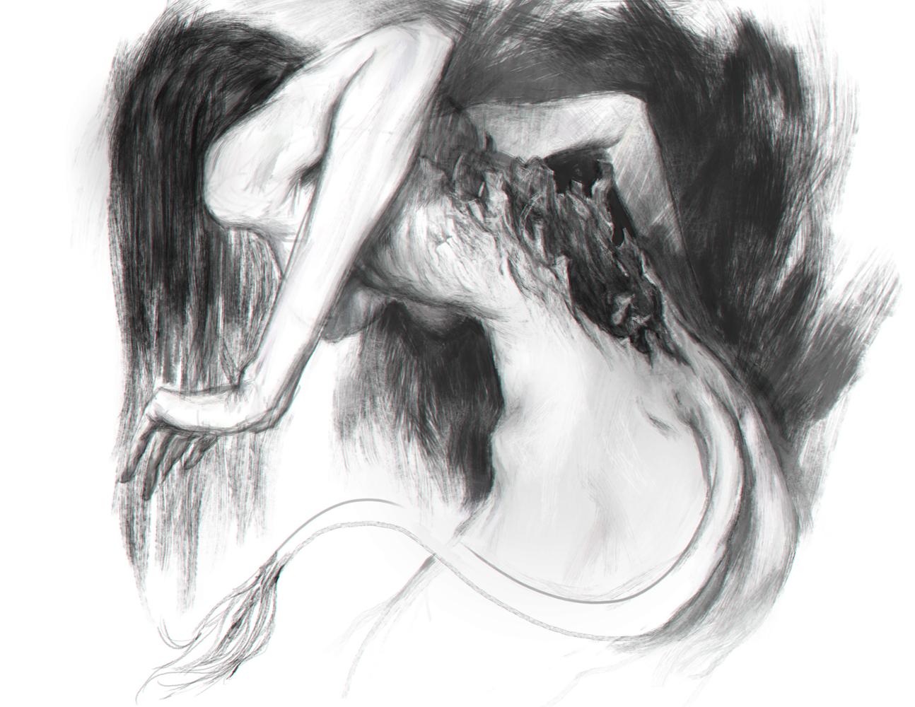 Huldra illustration