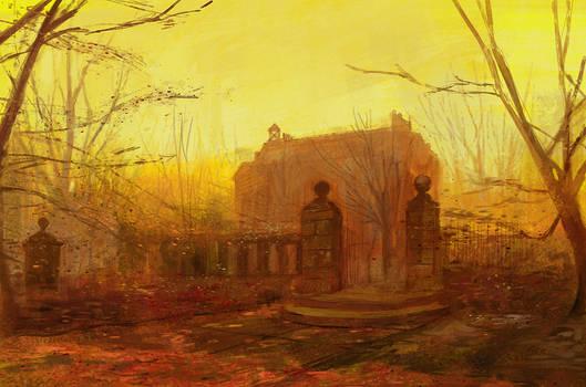 Study: John Atkinson Grimshaw
