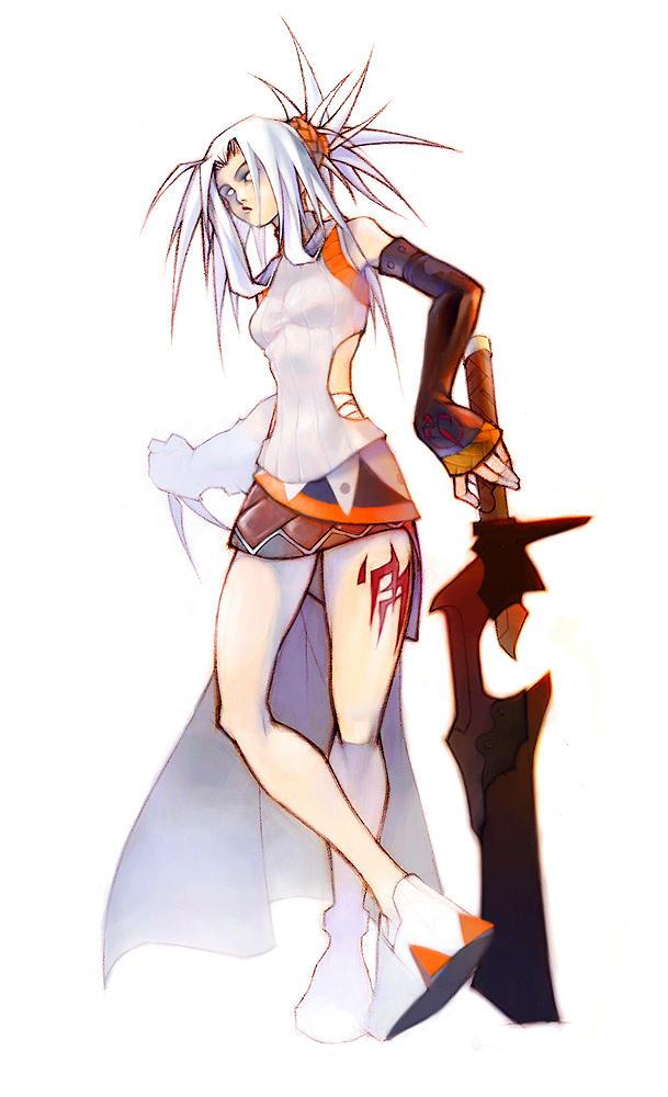 sword girl by tobiee