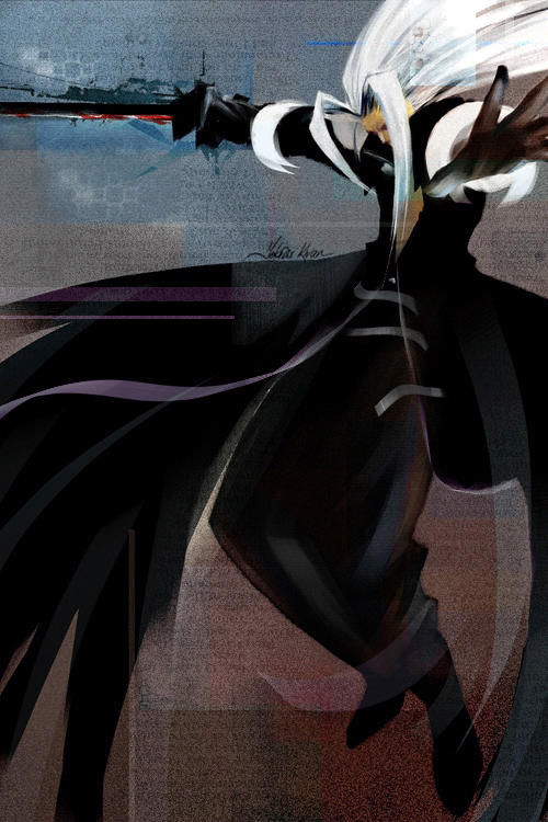 sephiroth by tobiee