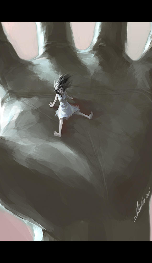 another closeup to big hand by tobiee