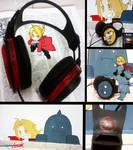 Fullmetal Alchemist Headphones