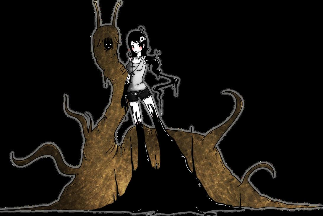 Alice and Slugboy by JinnyMoose