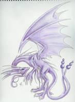 Psychic Dragon Issakira by Dark-Dragon-Kyra