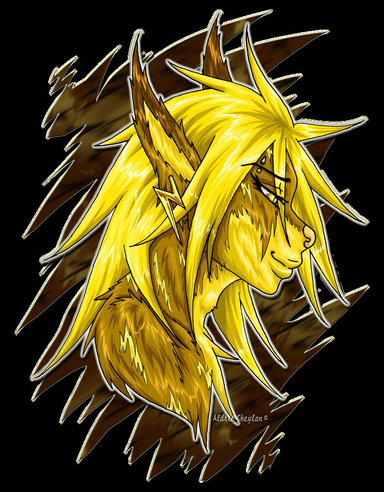 Yellow Portrait by Aldric-Cheylan