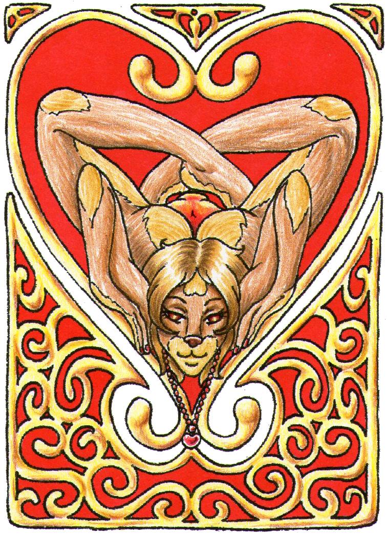 ACEO   Art Nouveau   Happy Valentine By Aldric Cheylan ...