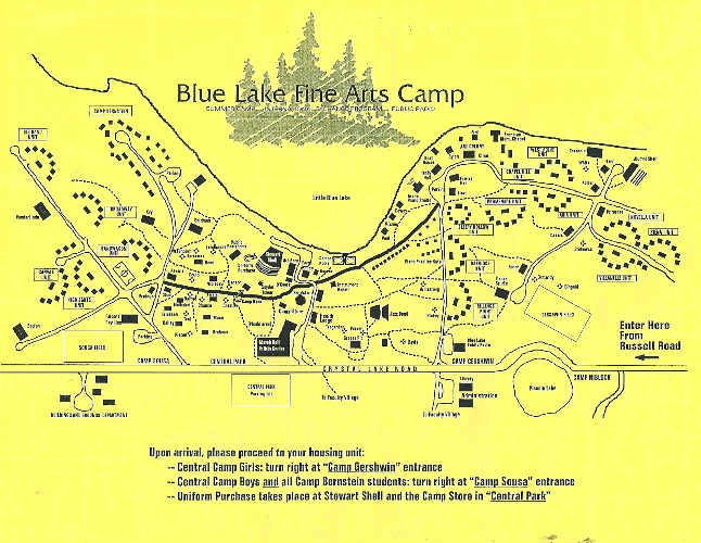 blue lake fine arts camp map Map Of Band Camp By Sierra Mattea On Deviantart blue lake fine arts camp map
