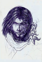 Prince of Persia (pen) by Merunit