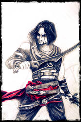 Prince of Persia (pencils) by Merunit