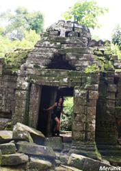 Lara: Improvisation - Cambodia - 9 by Merunit