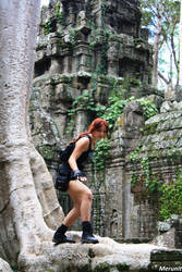 Lara: Improvisation - Cambodia - 11 by Merunit