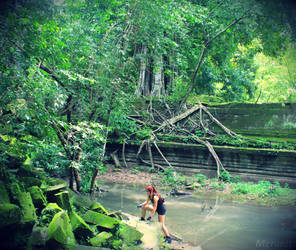 Lara: Improvisation - Cambodia - 12 by Merunit