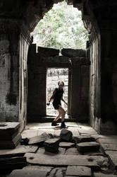 Lara: Improvisation - Cambodia - 23 by Merunit