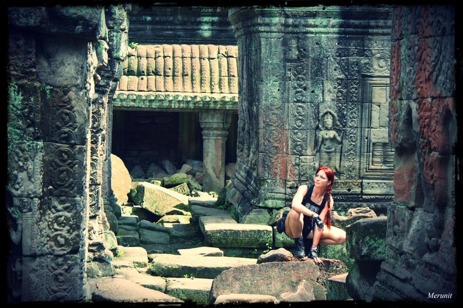 Lara: Improvisation - Cambodia - 26 by Merunit